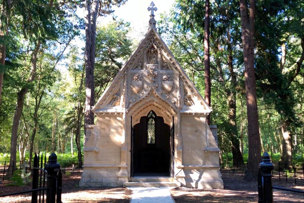 The restored Colquhoun Chapel